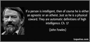 Agnostic Atheist Quotes