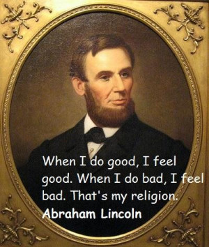 Abraham lincoln famous quotes 1