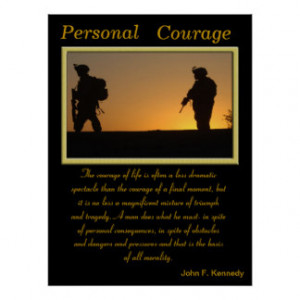 Personal Courage Posters & Prints