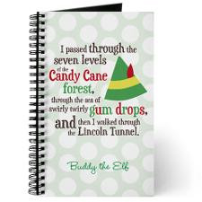 Candy Cane Forest Quote Journal for