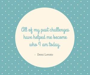 Beautiful quote by Demi Lovato. :) #quotes #challenges #struggle # ...