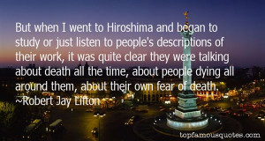 Top Quotes About Hiroshima