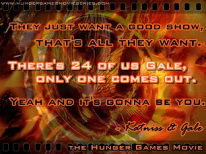 Hunger Games Background Quotes The hunger games movie quotes