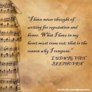 ... Quotes Beethoven, Quotes Verses, Beethoven Quotes, Quotes Reminder