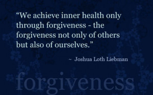 ... Love Is Not How You Forgive,But How You Forget ~ Forgiveness Quote