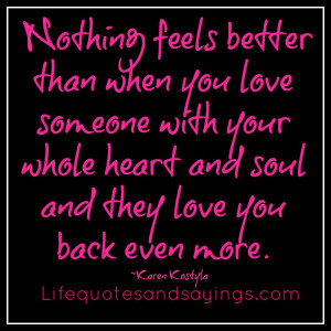 Nothing Feels Better Than.. | Love Quotes And SayingsLove Quotes ...