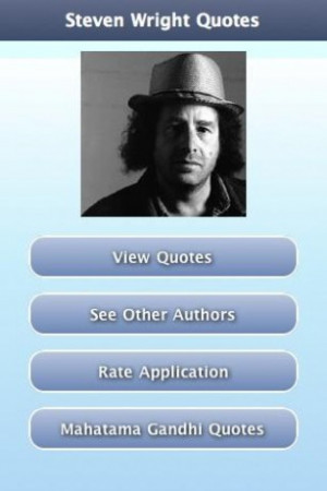 Steven Wright Quotes Screenshot 1