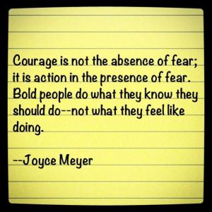 Confident Women Quotes Joyce meyer
