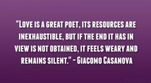 Giacomo Casanova Quote