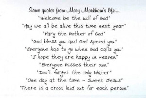 Anniversary Time - Mary Markham (1923 - 2012)