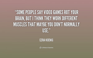 Quotes About Video Games