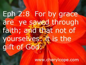 Bible Quotes Gods Grace ~ What is Grace? | Cheryl Cope