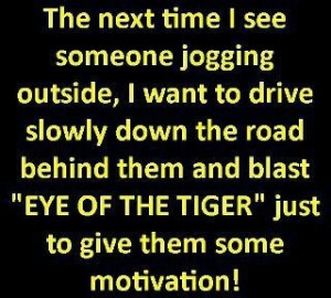 next time eye of the tiger