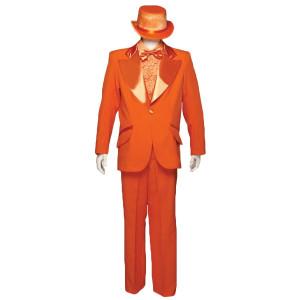 Dumb and Dumber Costume - 1970's Tuxedo - Orange Tuxedo