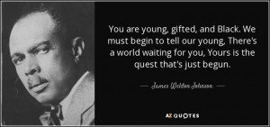 James Weldon Johnson Quotes