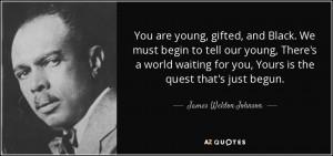 James Weldon Johnson Quotes