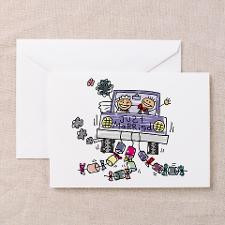 Funny Just Married Announcements Cards (6) for