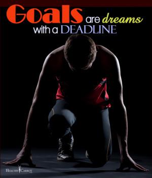 Inspirational Quote – Goals vs. Dreams