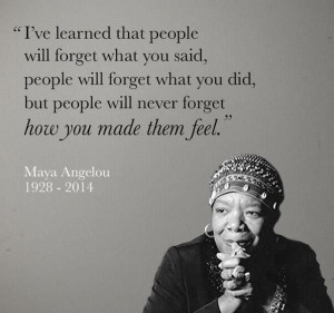 Maya Angelou's legacy through some of her most inspirational quotes ...