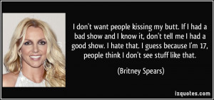 More Britney Spears Quotes