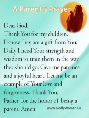 love this prayer and love that God choose to give me my little sweet ...