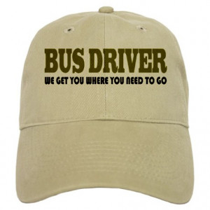 Bus Gifts > Bus Hats & Caps > Funny Bus Driver Cap