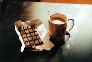 breakfast, chocolate, coffee, drink, food