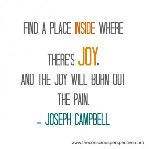 Wisdom Wednesday ~ A Quote from Joseph Campbell