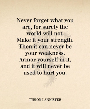 Quote On Strength Or Weakness