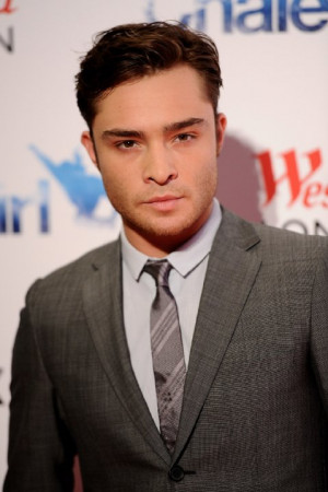 Ed Westwick at event of Chalet Girl (2011)
