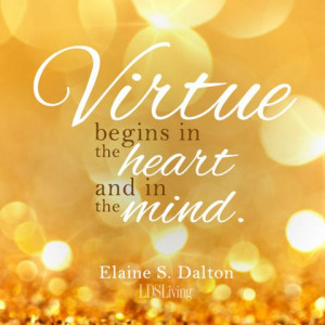 Young Women Values FHE: Virtue