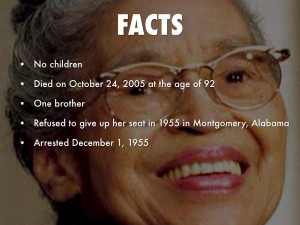 Rosa Parks Childhood Quotes Quotesgram