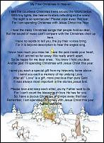 Christmas Poem ( For those that may have lost a loved one this year ...