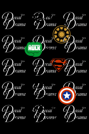 Superhero Dad Quotes Vinyl wall decal - daddy