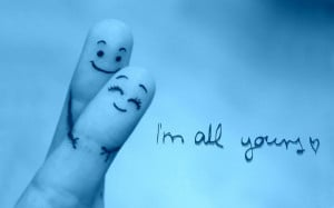 Funny Long Distance Friendship Quotes: I Am All Yours Quote With The ...