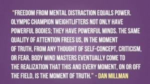 Freedom From Mental Distraction