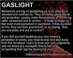 Narcissistic Personality Disorder. Trust your own intuition, don't let ...