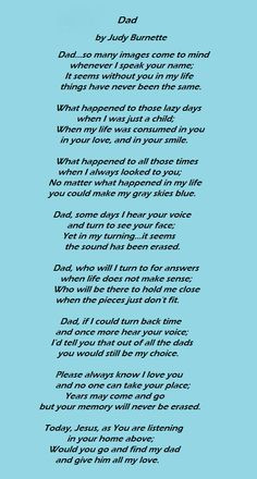 ... without my dad :-( Wish I could tell you Happy Fathers Day Dad. Love