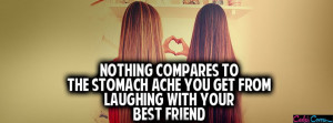 Laughing With Your Best Friend Facebook Cover