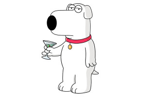 Family Guy Brian Griffin...