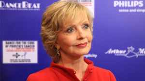 Actress Florence Henderson