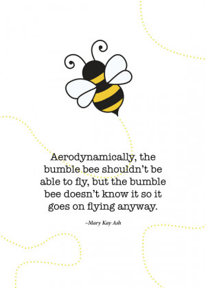 Print of quote by Mary Kay Ash
