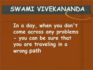 Motivational Quote by Swami Vivekananda Quote on taking risks by Swami ...