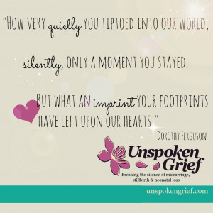 Grief Quote: How very quietly you tiptoed