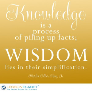 ... Martin Luther King, Jr. #education #knowledge #quote Knowledge Quotes