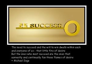 Desire of Success Success Quotes