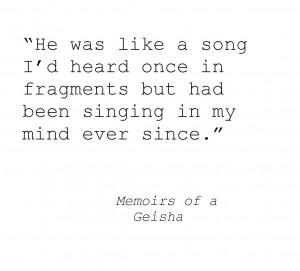 memoirs of a geisha · #love