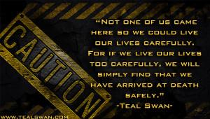 caution quote