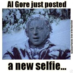 Al Gore's new selfie