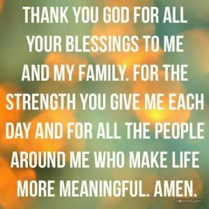 Thank you, God.